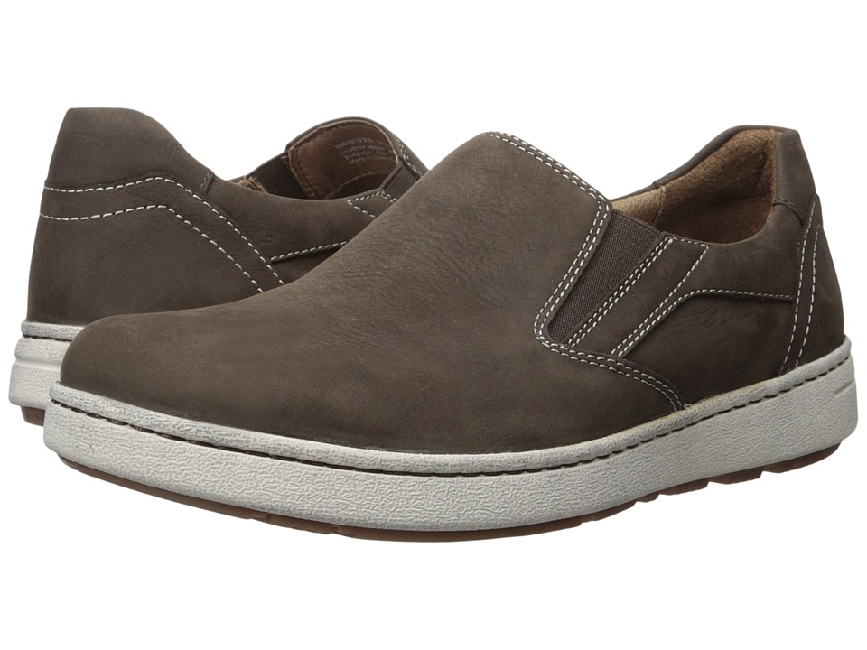 Dansko Viktor (Brown Milled Nubuck) Men's Slip on  Shoes