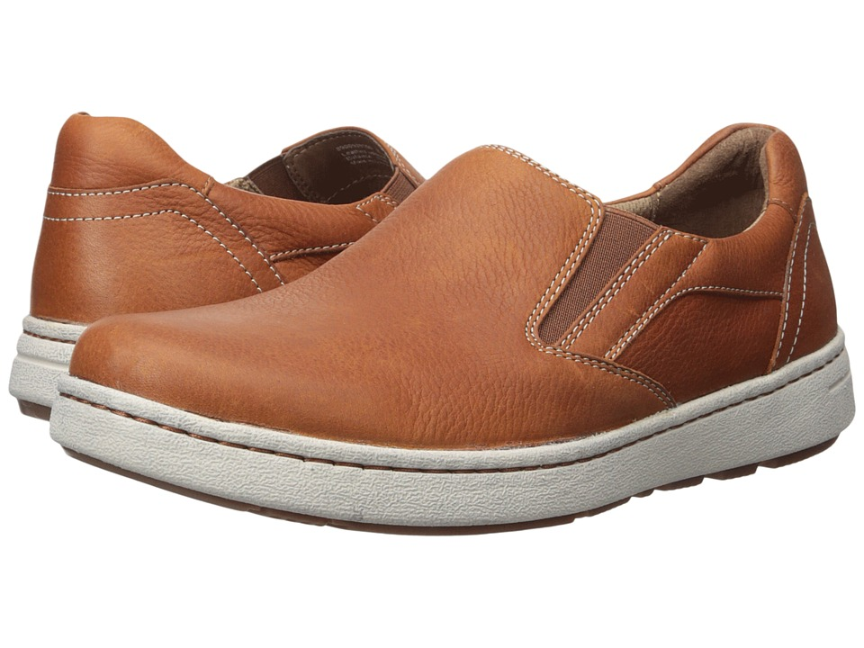 Dansko Viktor (Russet Tumbled Full Grain) Men's Slip on  ...