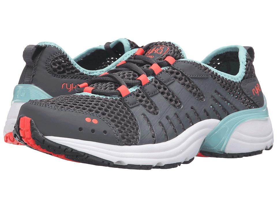 Ryka Hydro Sport 2 (Iron Grey/Eggshell Blue/Electric Coral) Women