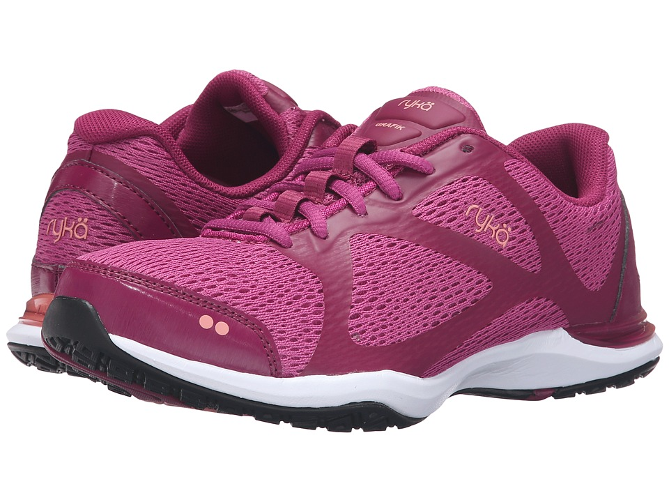 Ryka - Grafik (Bougainvillea/Raspberry Radiance/Peach Amber) Womens Shoes