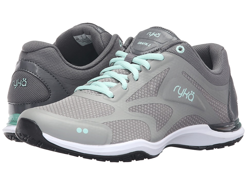 Ryka Grafik 2 (Iron Grey/Frost Grey/Yucca Mint) Women's Shoes