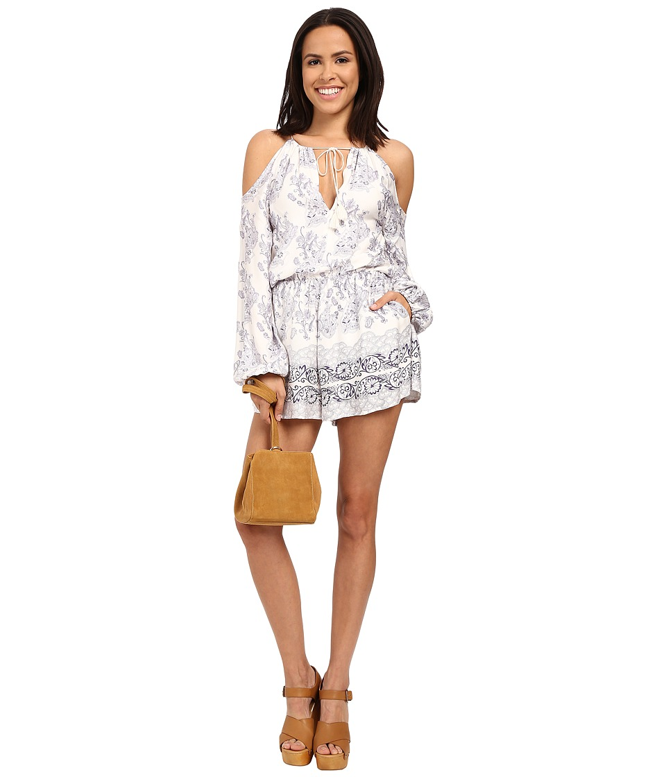 The Jetset Diaries Infinity Romper Infinity Print Womens Jumpsuit Rompers One Piece