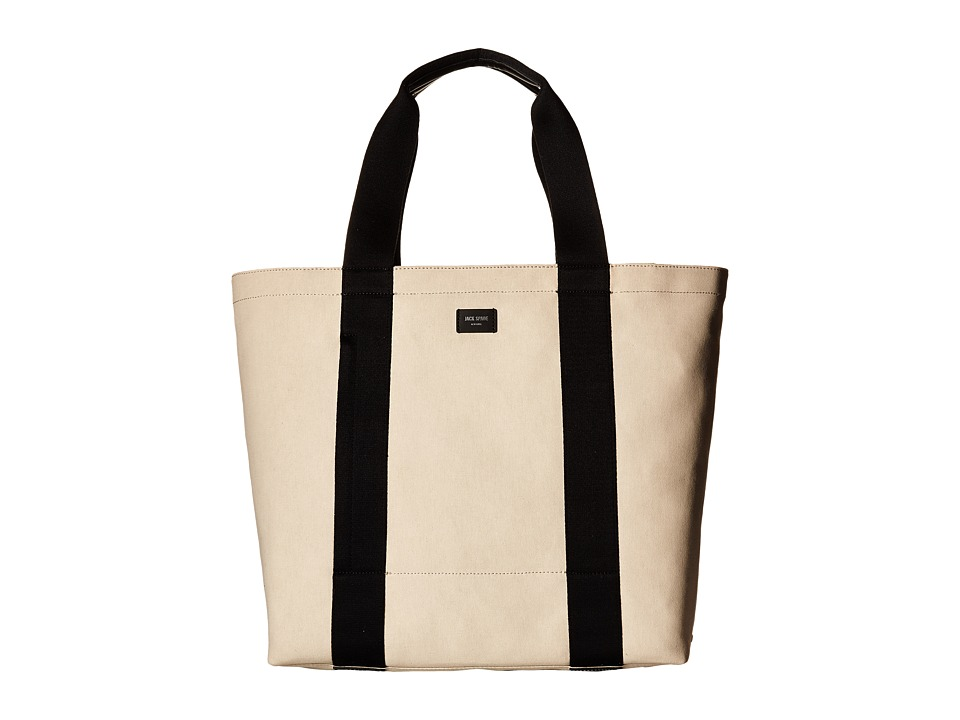 Jack Spade - Surf Canvas Tote Bag (Oatmeal) Tote Handbags