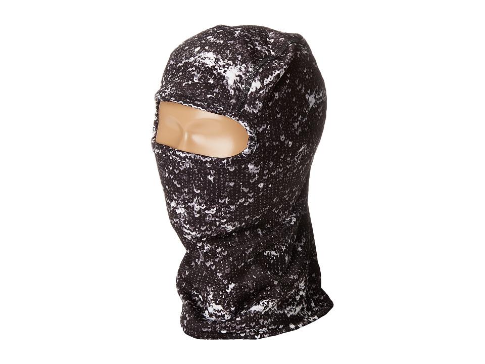 Spyder Kids - T-Hot Balaclava (Big Kids) (Sequins Black Print) Snow Hats