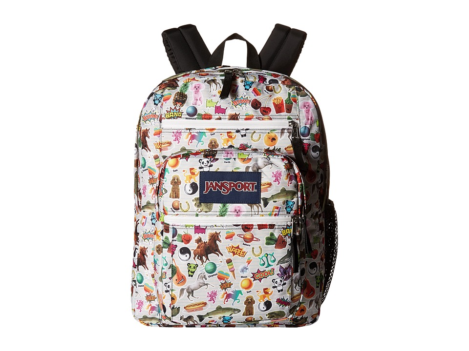 JanSport - Big Student (Multi Stickers) Backpack Bags