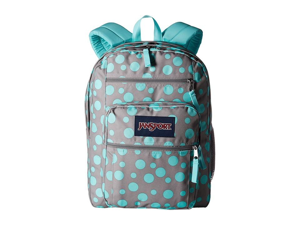 JanSport - Big Student (Grey Rabbit Sylvia Dot) Backpack Bags