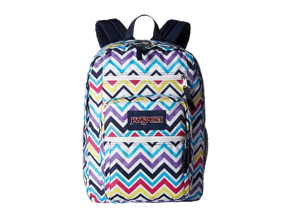 JanSport - Big Student (Multi Saucy Chevron) Backpack Bags