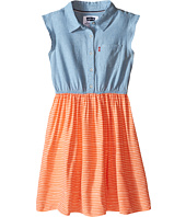 Levi's® Kids - Beach Picnic Short Sleeve Woven Dress (Big Kids)