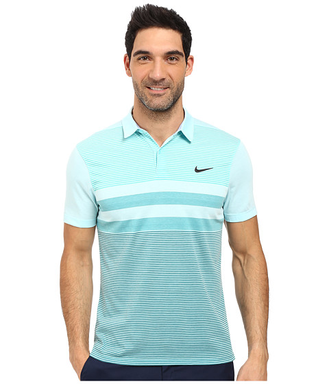 Nike Golf Modern Fit Transition Dry Stripe