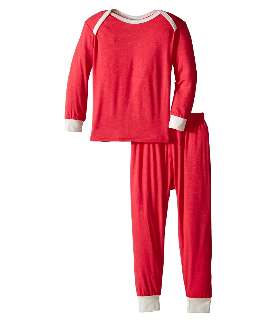 BedHead Kids L/S Tee Pant Infant Deep Coral Girls Pajama Sets