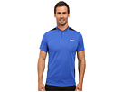 Nike Golf Momentum Fly Sphere Blocked Polo (Game Royal/Black/Game Royal/Reflective Silver)