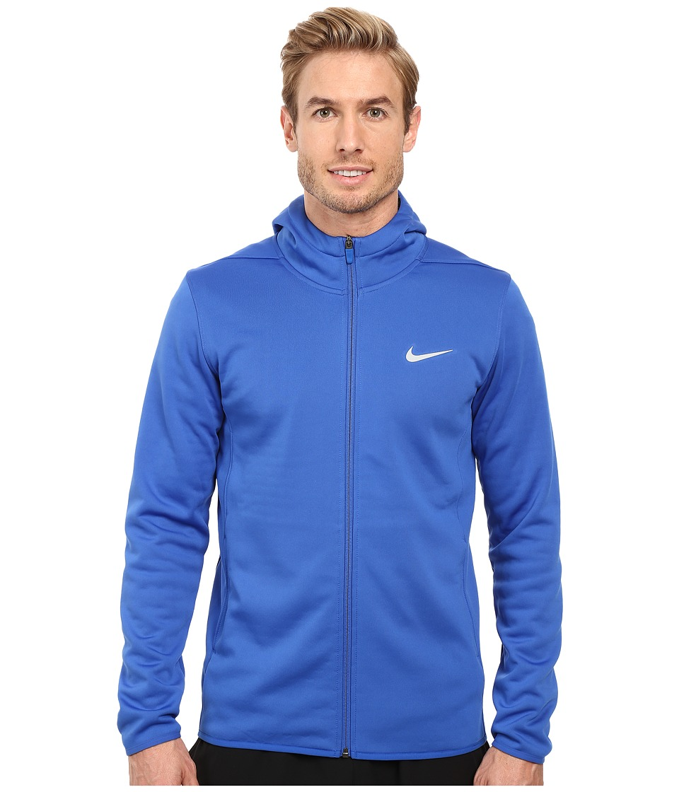 Nike Golf Tech Sphere Full Zip Hoodie (Game Royal/Black/Flat Silver) Men