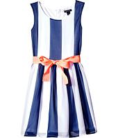 Tommy Hilfiger Kids - Vertical Stripe Dress (Little Kids/Big Kids)