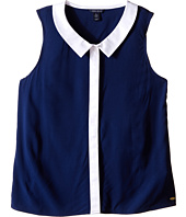 Tommy Hilfiger Kids - Color Block Collared Tank Top (Big Kids)