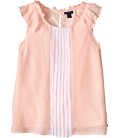 Tommy Hilfiger Kids - Color Block Pleated Top (Big Kids)