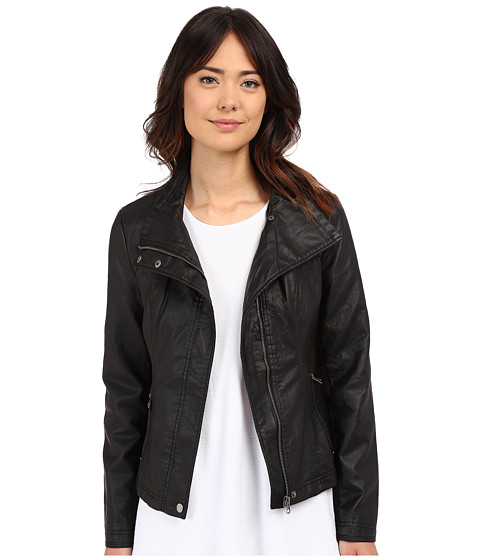 Brigitte Bailey Doralee Faux Leather Jacket