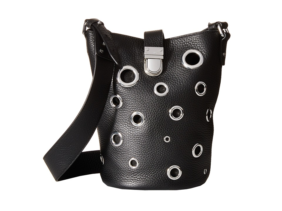 McQ - Grommet Mini Bucket (Black) Handbags