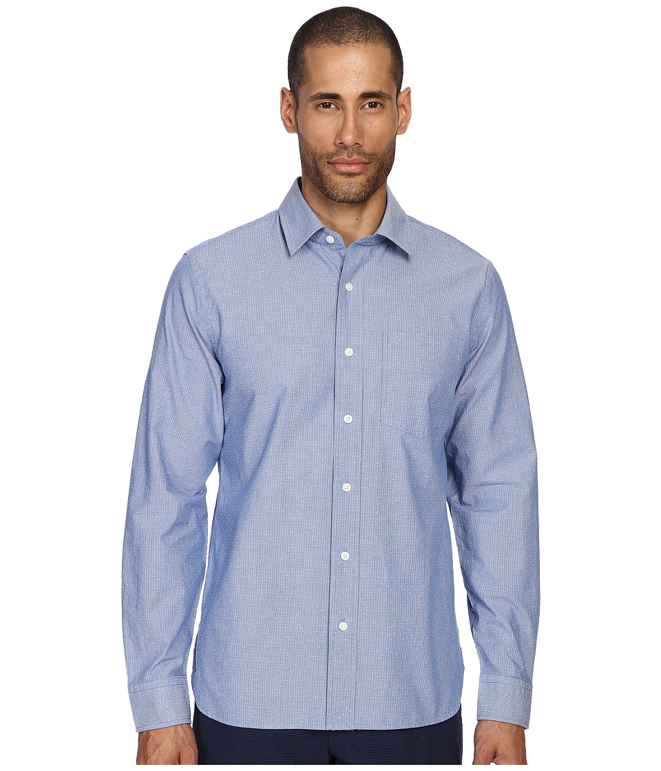 Jack Spade - Grant Stripe Dobby Point Collar Shirt