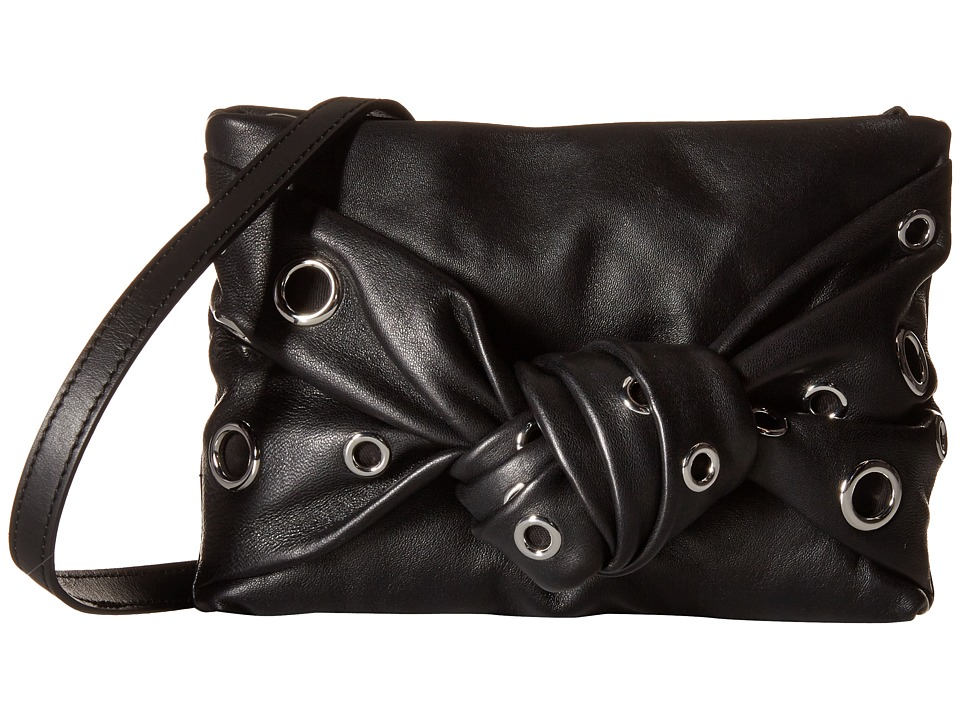 McQ - Spotted Crossbody (Black) Cross Body Handbags