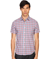 Jack Spade - Clift Short Sleeve Point Collar Shirt