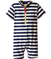 Toobydoo - Yellow Zip Short Sleeve Sunsuit (Infant)