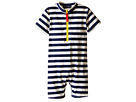 Toobydoo Toobydoo Yellow Zip Short Sleeve Sunsuit (Infant/Toddler)