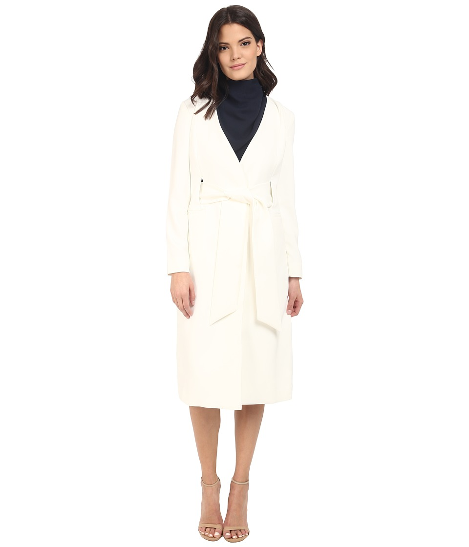 KEEPSAKE THE LABEL Ignorance Is Bliss Coat Ivory Womens Coat