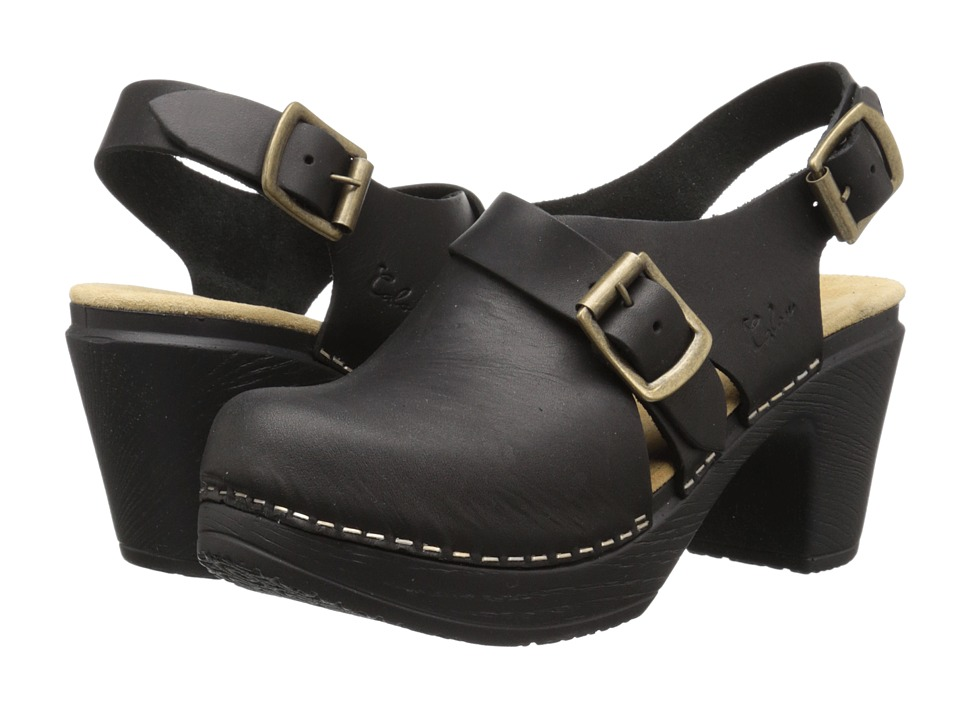 Calou Stockholm Astrid Black Womens Shoes