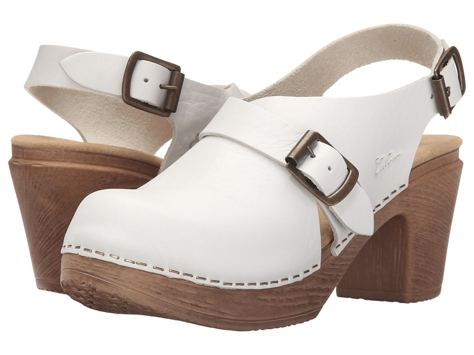 Calou Stockholm Astrid White Womens Shoes