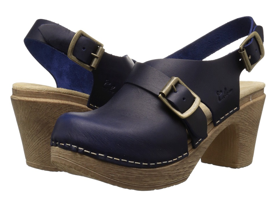 Calou Stockholm Astrid Blue Womens Shoes