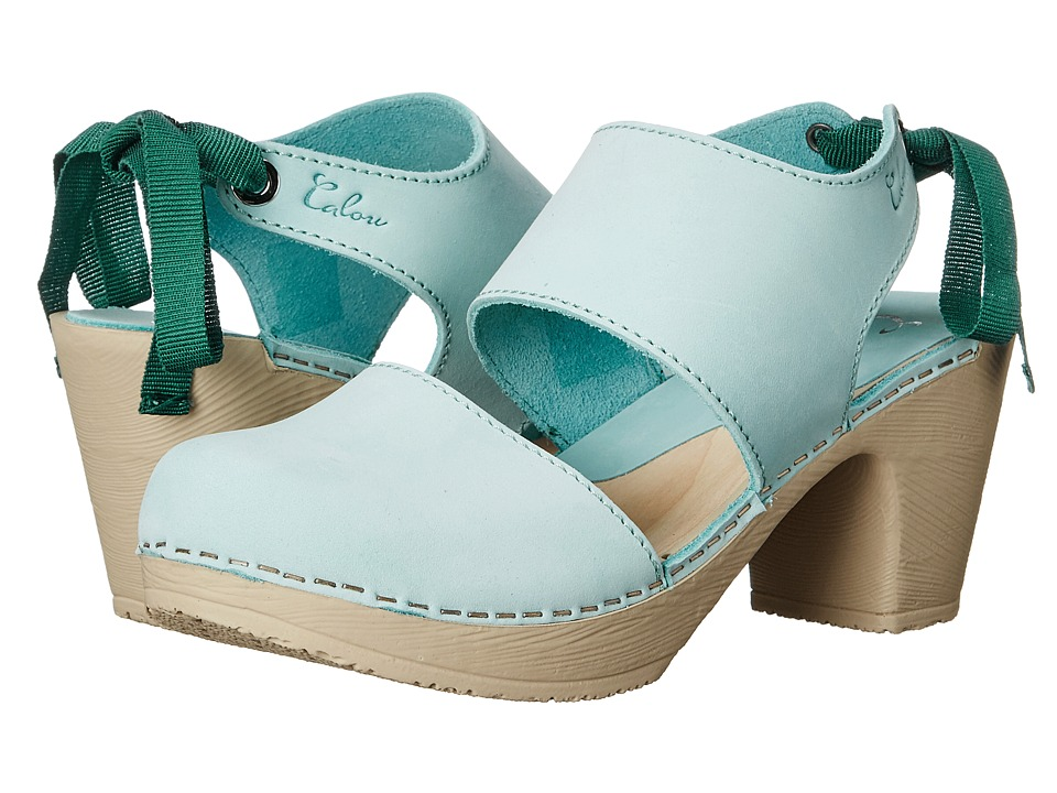Calou Stockholm Blanca Aqua Womens Shoes