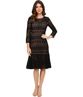 Rebecca Taylor - Stained Glass Lace Long Sleeve Dress