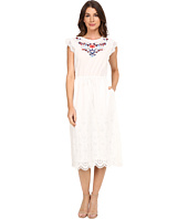 Rebecca Taylor - Folk Garden Embroidery Sleeveless Dress