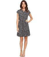 Rebecca Taylor - Mini Pop Flower Print Dress