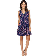 Rebecca Taylor - Kyoto Floral Print Sleeveless Dress
