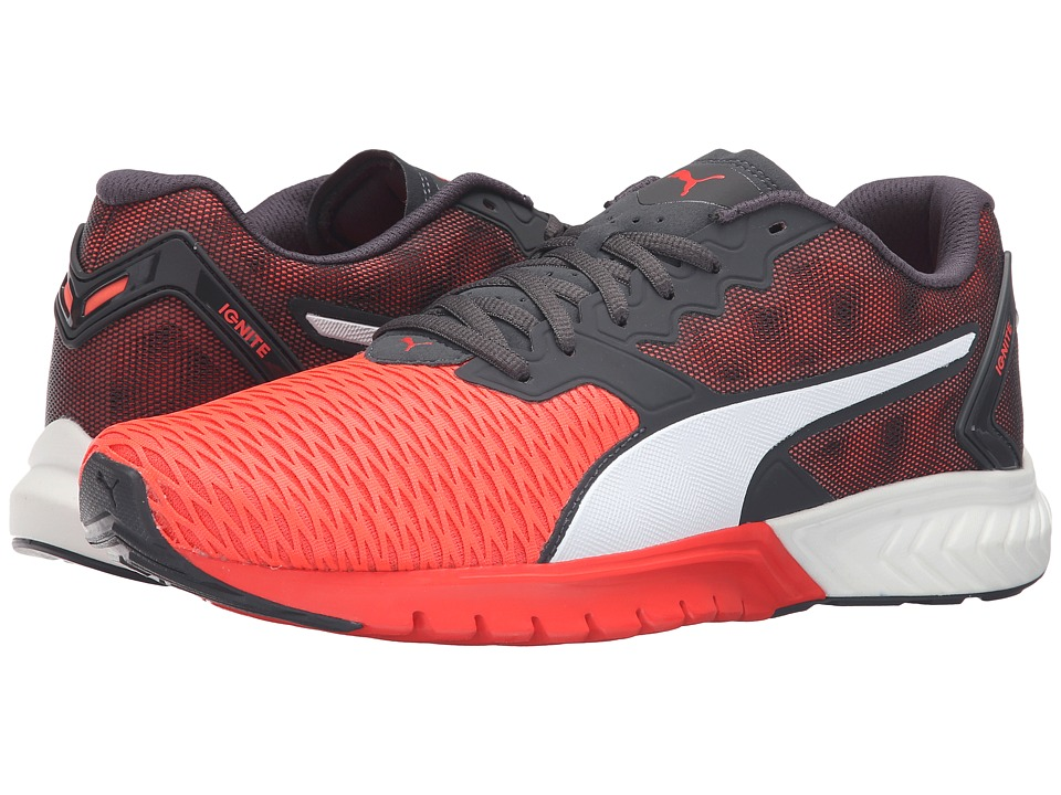 PUMA - Ignite Dual (Red Blast/Asphalt) Men