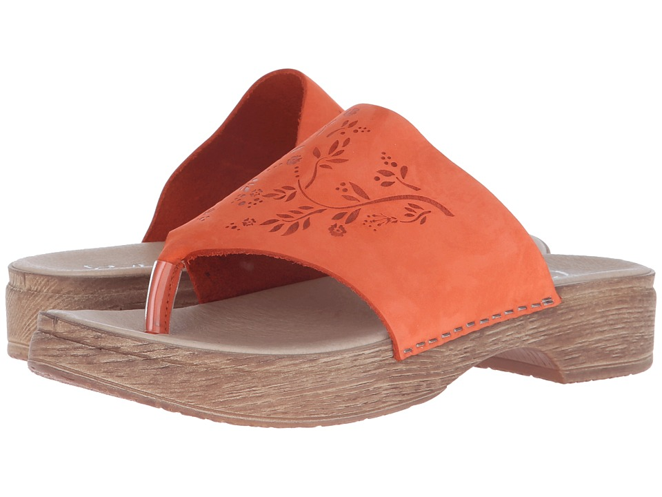 Calou Stockholm Emma Orange Womens Shoes