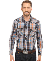 Rock and Roll Cowboy - Long Sleeve Snap B2S6274