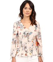 Rebecca Taylor - Meadow Floral Print Long Sleeve Blouse
