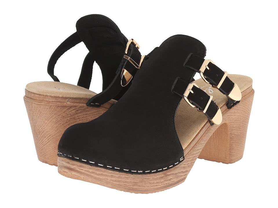 Calou Stockholm Katty Black Womens Shoes