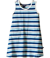 Toobydoo - Tank Dress Multi Blue Stripe (Infant/Toddler)
