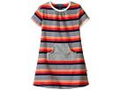 Short Sleeve Dress w/ Grey Pocket (Infant/Toddler)