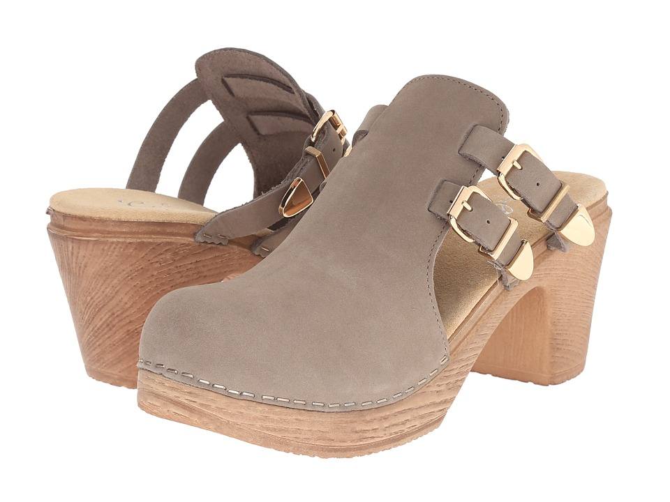 Calou Stockholm Katty Grey Womens Shoes
