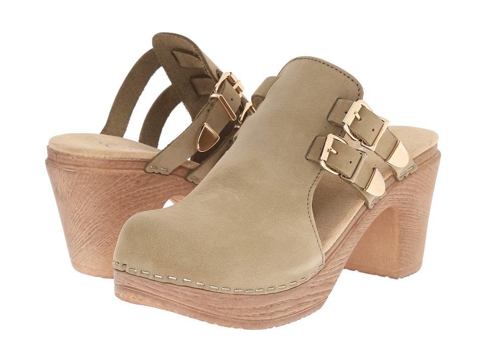 Calou Stockholm Katty Olive Womens Shoes