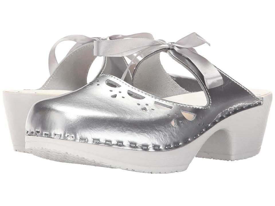 Calou Stockholm Knyta Silver Womens Shoes