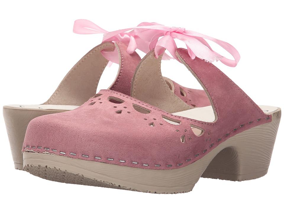 Calou Stockholm Knyta Pink Womens Shoes