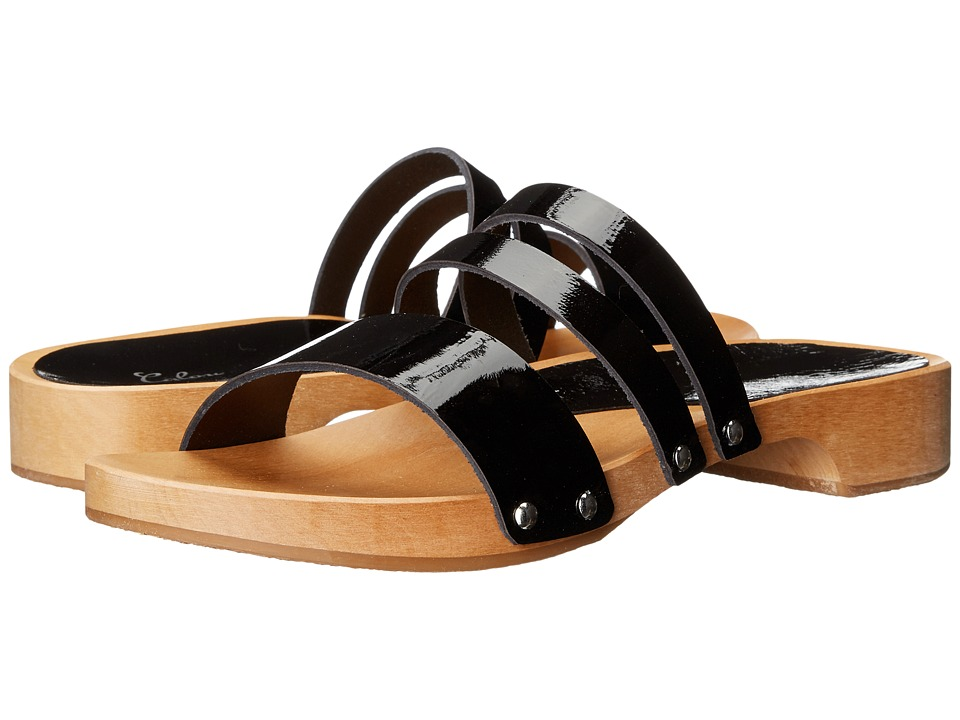Calou Stockholm Lillian Black Patent Womens Shoes