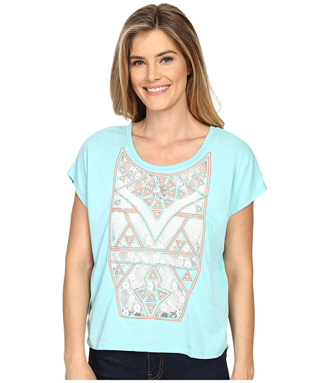 Rock and Roll Cowgirl Short Sleeve Knit 47-6253