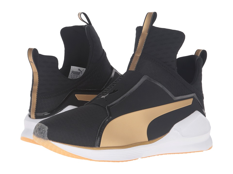 PUMA Fierce Gold (Puma Black/Gold) Women