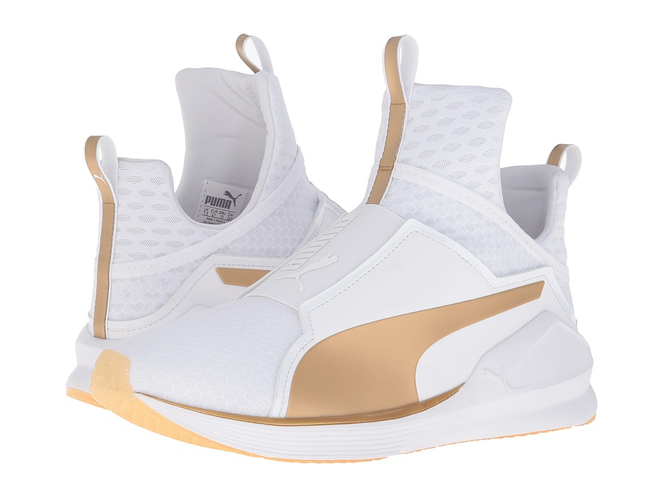 PUMA Fierce Gold (White/Gold) Women